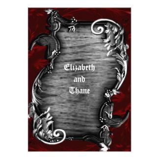 Proclamation Gothic Vampire Invitation