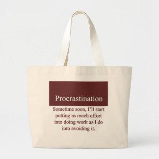 Procrastination Bags