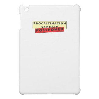 Procrastination Humour for Procrastinators Case For The iPad Mini