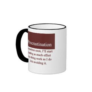 Procrastination Ringer Mug
