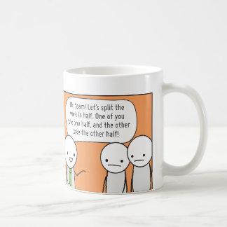 Procrastinator's Cup: The Delegator Mugs