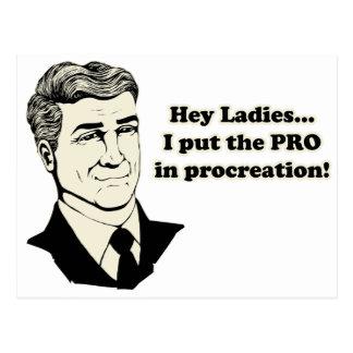 PROcreation Post Card