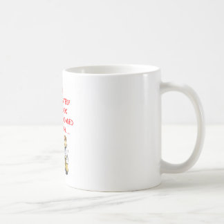 proctology joke classic white coffee mug