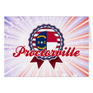 Proctorville, NC Greeting Card