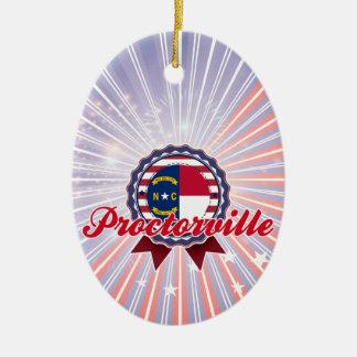 Proctorville, NC Ceramic Oval Decoration
