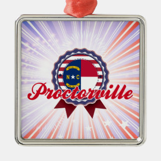Proctorville, NC Silver-Colored Square Decoration