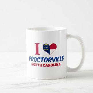 Proctorville, North Carolina Basic White Mug
