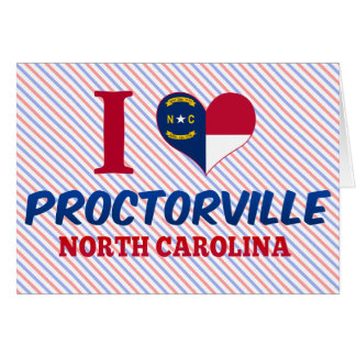 Proctorville, North Carolina Greeting Card