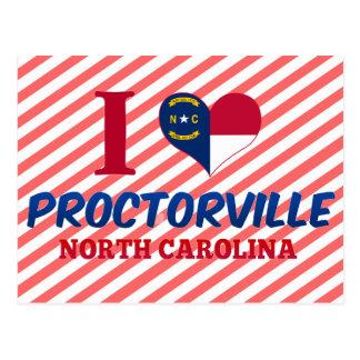 Proctorville, North Carolina Post Card