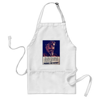 Produce For Victory! Apron