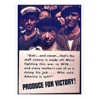 Produce For Victory! Personalized Flyer