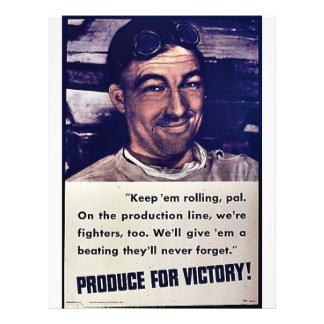Produce For Victory Flyers
