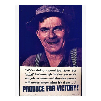 Produce For Victory Personalized Flyer