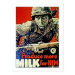 Produce More Milk for Him Post Cards