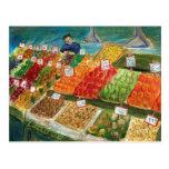 Produce Vendor Postcard (Pike Place Seattle)