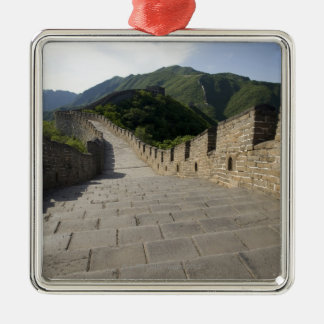 Produced by Blue Jean Images in Beijing, China 2 Silver-Colored Square Decoration