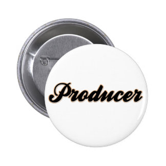 Producer Baseball Style 6 Cm Round Badge