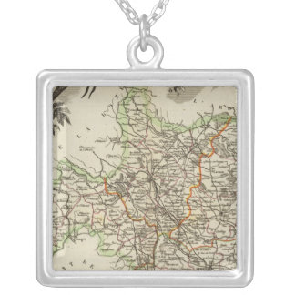 Product Landscapes Silver Plated Necklace