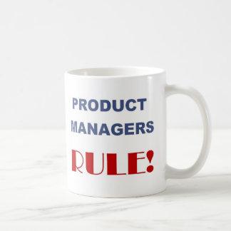Product Managers Rule Basic White Mug