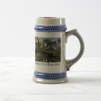 Product Of A Toxic Mind Beer Stein
