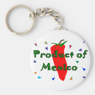 Product of Mexico, Red Chilli Pepper T-Shirts Key Ring