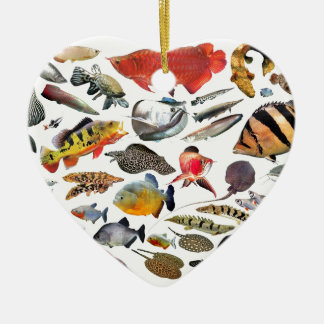 Product of photograph entering of large-sized trop ceramic heart decoration