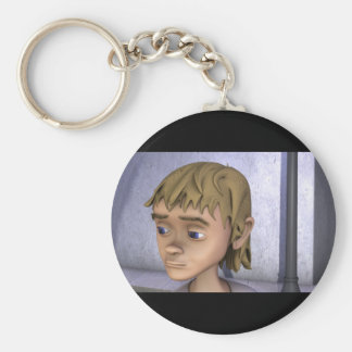 "Production Shot for ""The Golden Coin"" Basic Round Button Key Ring"