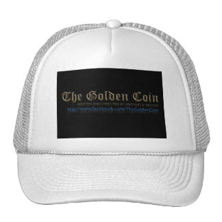 "Production Shot from ""The Golden Coin"" Trucker Hat"