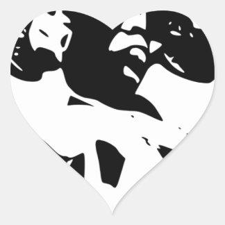 Products Gospel IS great Heart Sticker