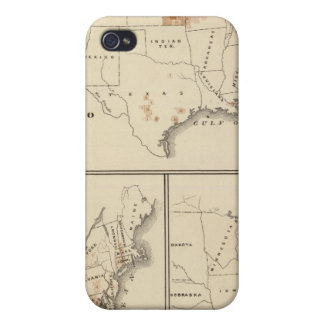 Products raised in 1870 Hay Tobacco Cotton iPhone 4 Case