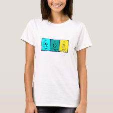 Periodic table Prof shirt