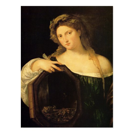 Profane Love by Titian Postcard