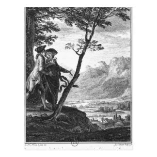Profession of faith of the Savoyard vicar Postcard