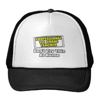 Professional 1st Grade Teacher...Joke Hat
