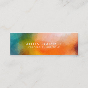 Art luxurious business cards business card printing zazzle uk professional abstract art premium linen luxury mini business card reheart Image collections
