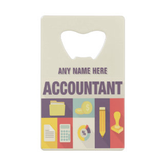 Professional Accountant Iconic Design