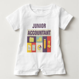 Professional Accountant Iconic Design Baby Bodysuit