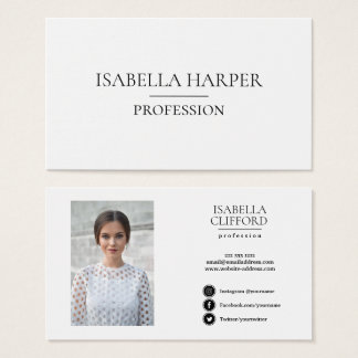 Professional Actor Headshot  Social Media Icon Business Card