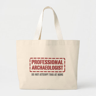 Professional Archaeologist Canvas Bags
