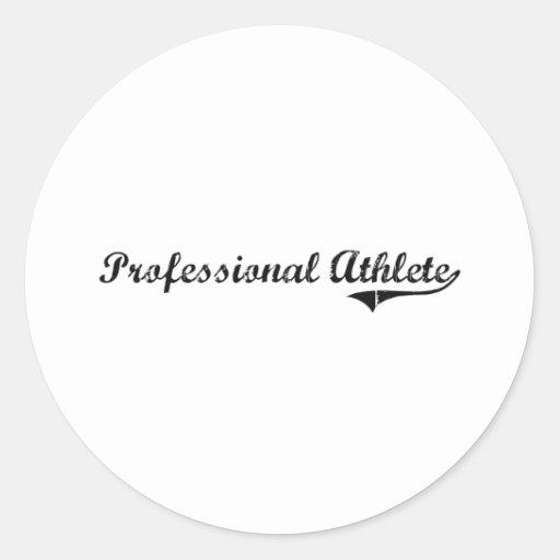 Professional Athlete Professional Job Stickers