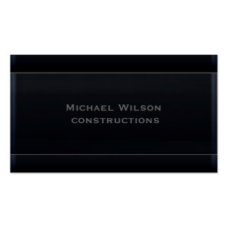Professional attractive elegant  black business card template
