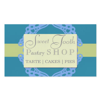 Professional bakery business card