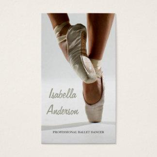 Professional Ballet Dancer Studio Theatre Card