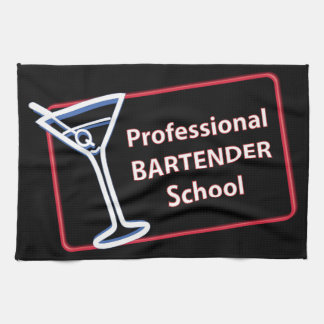 Professional Bartender School Bar Towel