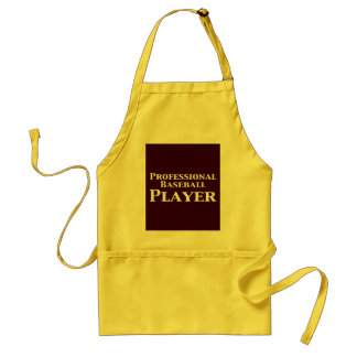 Professional Baseball Player Gifts Standard Apron