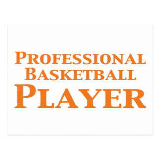 Professional Basketball Player Gifts Postcard