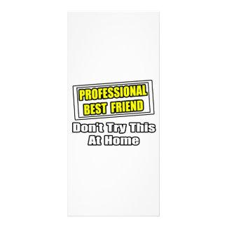Professional Best Friend...Joke Rack Card Design