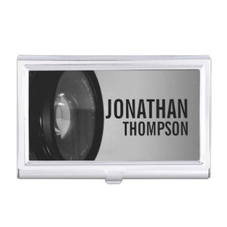 Professional Black and White Photography Business Card Cases