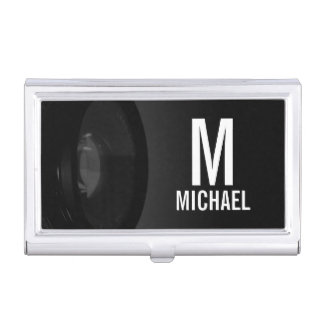 Professional Black and White Photography Business Card Holders