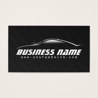Professional Black Carbon Fiber Car Business Card
